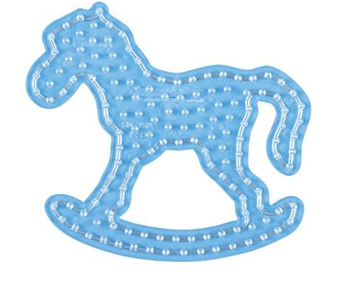 Hama 8221 – Vrijetijdscreatief – plaat voor parels strijkijzer Maxi – schommelpaard
