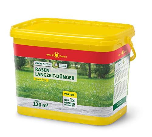 Preisvergleich Produktbild WOLF-Garten - Energy Depot Rasen-Langzeitdünger ED-RA 120 (für ca. 120 m² / Jahr); 3839020