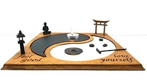 Bonseki Giardino Zen Yin Yang da tavolo. Totalmente personalizzabile. Visualizza le opzioni