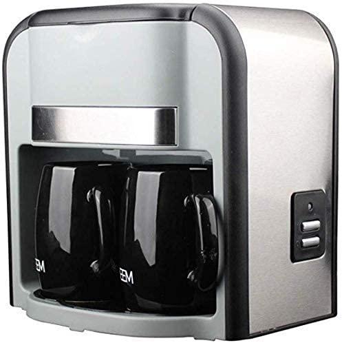 Cafetera portátil para Viajes al Aire Libre Electrodomésticos 2 Tazas Cafeteras de...