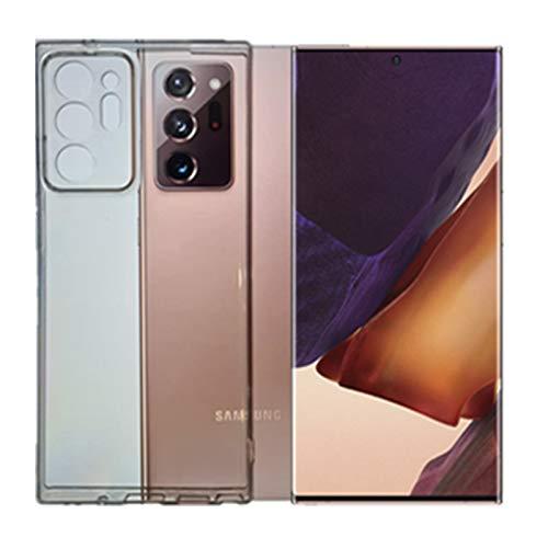KEJI Carcasa para Samsung Galaxy Note 20 Ultra 5G, de TPU suave, transparente, compatible con Samsung Galaxy Note 20 Ultra 5G de 6,9 pulgadas, funda blanda de silicona flexible