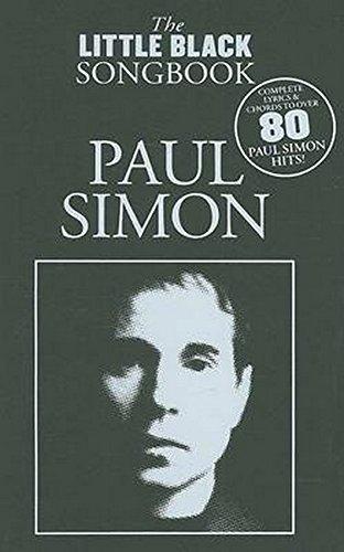 The Little Black Songbook Paul Simon (Guitar Book & CD): Buch, CD für Gitarre: Lyrics/Chord Symbols