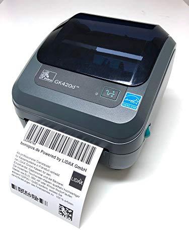 Zebra GK420d Direkt Wärme 203 x 203DPI Etikettendrucker, GK42-202220-000