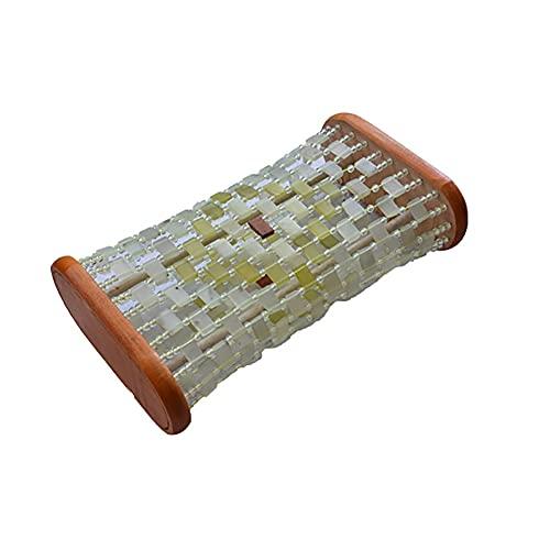 TINE Almohada De Jade Natural Sauna Almohada Cervical Hueca Masaje Fresco Salud Almohada Transpirable A Prueba De Sudor