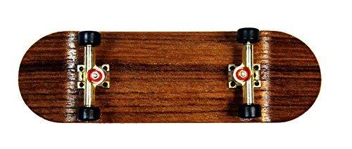 SOUTHBOARDS EDEL Fingerskateboard Oak/GO/SWZ Handmade Wood Fingerboard Echtholz