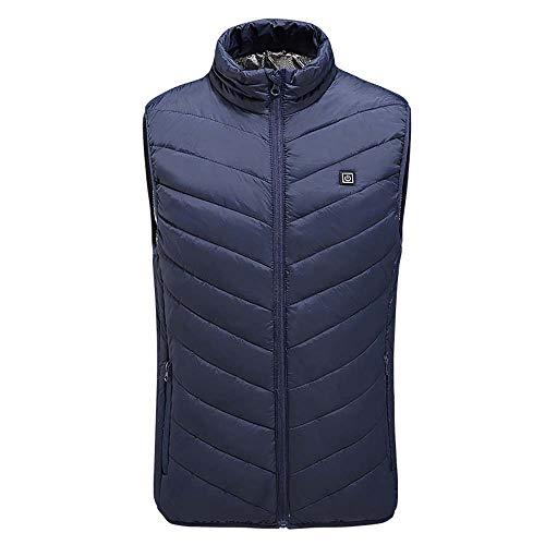 Chaleco Calefacción Vestido Climatizado USB Eléctrico Para Hombre Chaleco Chaleco Mujer Abrigo...