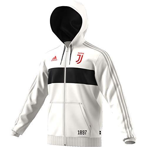 adidas Herren JUVE FZ HD Sweatshirt, blabas/schwarz, L