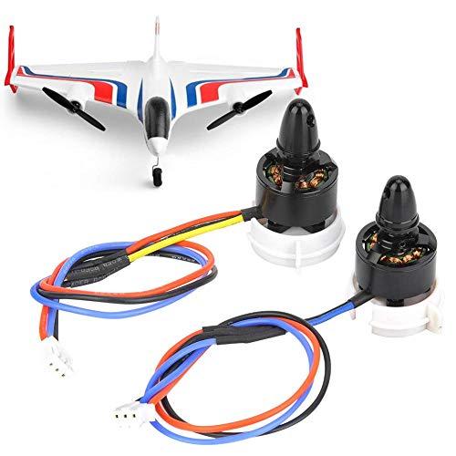 RC Motor Kit, CW CCW Motor Onderdelen Accessoire Geschikt voor WLtoys X520 Verticale Start Landing Vliegtuig voor Student Natuurkunde Wetenschap Educatief Leren Kit
