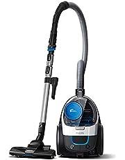 Philips Powerpro Compact Zakloze Stofzuiger, Zeer Laag Stroomverbruik Bij Hoge Prestaties, 1,5 Liter Stofvolume, Geïntegreerde Accessoires