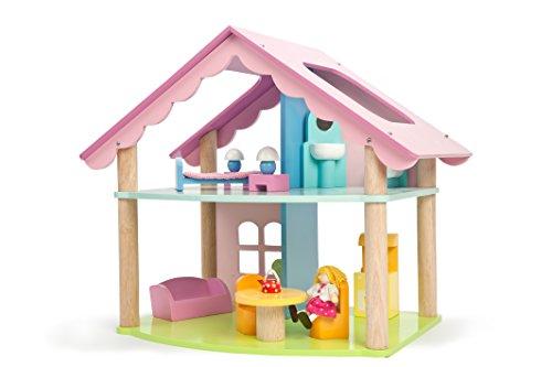Le Toy Van H170 Mias Haus mit Möbeln und Puppen