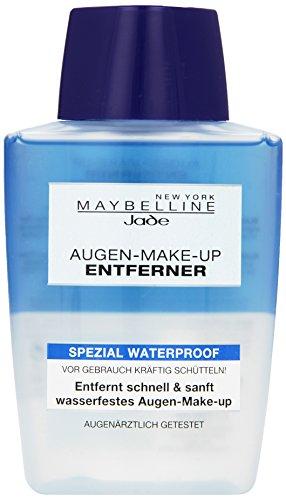 Maybelline New York Augen Make-Up Entferner für wasserfeste Schminke, 125ml
