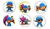 POCOYO Party Supplies Pocoyó 12 PINS Buttons FAVORS