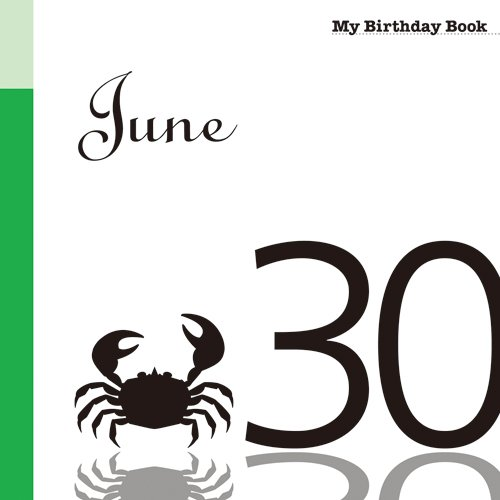 6月30日 My Birthday Book