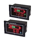 2pcs Display Digitale voltmetro CC amperometro Indicatore della capacità...