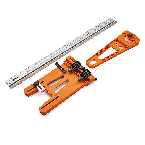 BORA Rip Guide with Saw Plate + Rip Handle, BORA Cutting System Rip Guide for Circular Saws, 544008