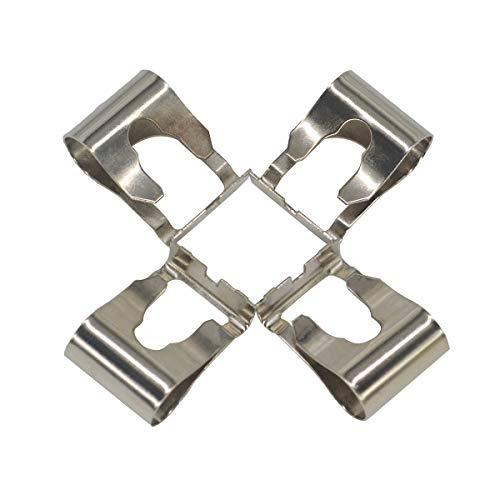 ZEALfix 4pc Kit de clip de reparación del motor de varillaje de limpiaparabrisas,Kit de clip de reparación del brazo del limpiaparabrisas
