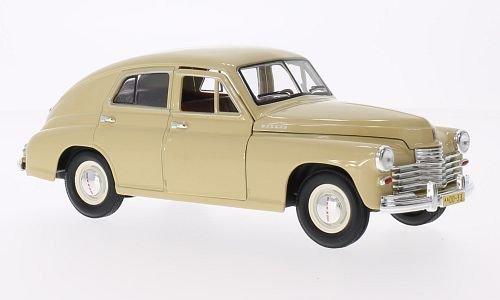 GAZ M20 Pobeda, beige, Modellauto, Fertigmodell, Lucky Die Cast 1:24