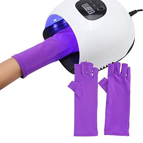 XXLYY 1 Paar Anti Nail Art Handschuhe Anti LED Lampe Nagelwerkzeug Strahlenschutzhandschuhe Nagelschutzhandschuhe (03)
