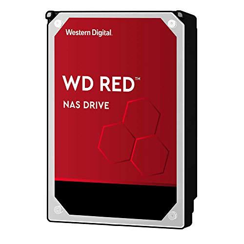 WD Red interne NAS-Festplatte 2 TB (3,5 Zoll, NAS Festplatte, 5400 U/min, SATA 6 Gbit/s, NASware-Technologie, 256 MB Cache)