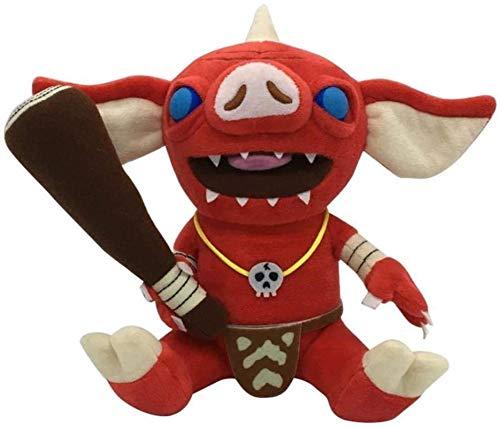 DINEGG 21cm Tier Die Legende von Zelda Atem des Wilden Plüschspielzeugs Weiche Anime Plüsch Puppe Spielzeug (Farbe: Bokoblin, Höhe: 21 cm) YMMSTORY (Color : Bokoblin, Size : 21cm)