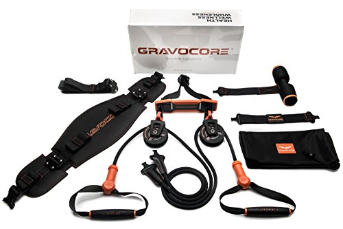 Gravocore Home Gym Equipment - Complete Full Body Workout using Body Weight for Resistance - Strength Training and Cardio for Efficient at Home Fitness