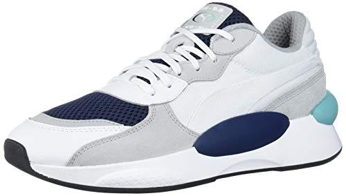 PUMA RS 9.8 Sneaker, White-Peacoat-h, 10 M US