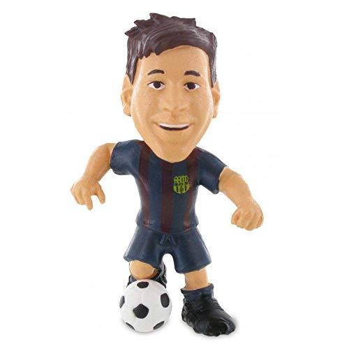 FCBARCELONA Figura Messi 6cm de FC Barcelona (74143), Multicolor (COMANSI 1)