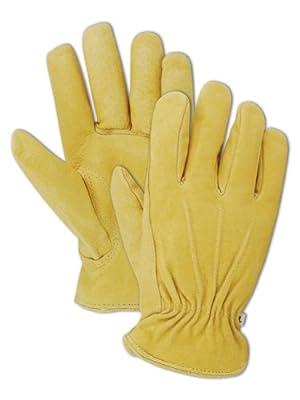 Magid Men's Pro Grade Collection Premium Red-Lined Grain Pigskin Gloves