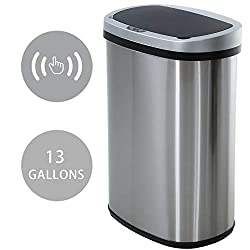 Image of HCB Trash Can Automatic...: Bestviewsreviews