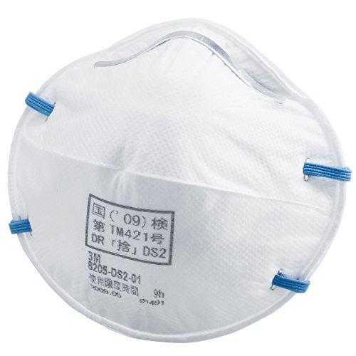 3M 使い捨て式防じんマスク 8205-DS2 20枚入り 国家検定合格品