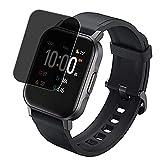 Vaxson Protector de Pantalla de Privacidad, compatible con AUKEY LS02 1.4' Smartwatch Smart watch [no vidrio templado] TPU Película Protectora Anti Espía