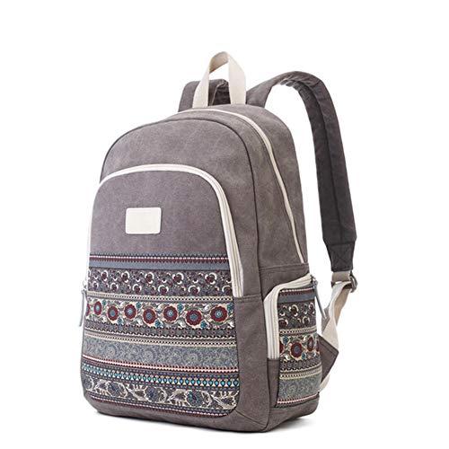 Babi Rugzak voor vrije tijd Libero vintage rugzak voor wandelen met grote capaciteit, geschikt voor school, wandelen, kamperen, sport bij open lucht, werk