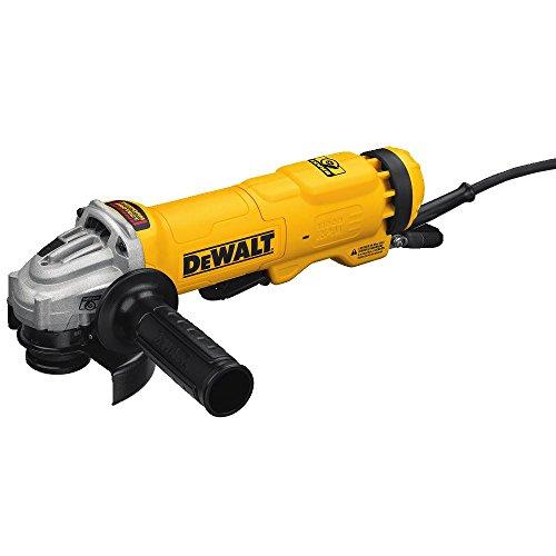 DEWALT DWE4222N - Molinillo de interruptor de ángulo pequeño con freno y sin bloqueo, 4,5 pulgadas