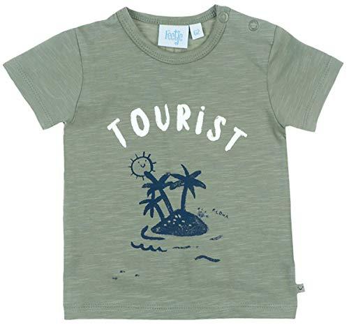 T-shirt Tourist Smile & Wave - Vert - 6 mois