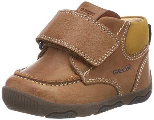 Geox Baby Jungen B New BALU' Boy B Sneaker, Braun (Brandy C6054), 24 EU