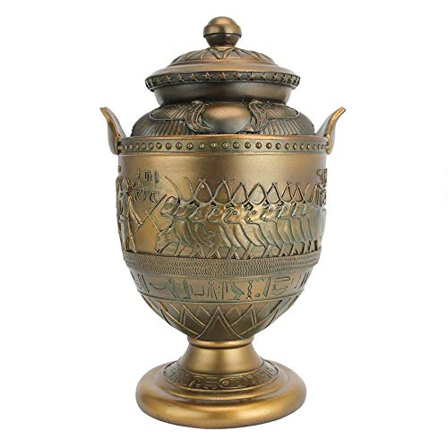 Design Toscano Divine Cult of Sacred Apis Egyptian Presentation Urn