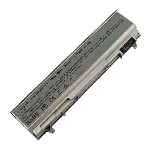 ARyee 5200mAh 11.1V E6400 Battery Laptop Battery for DELL Latitude E6400 E6410 E6500 E6510, Dell Precision M2400 M4400