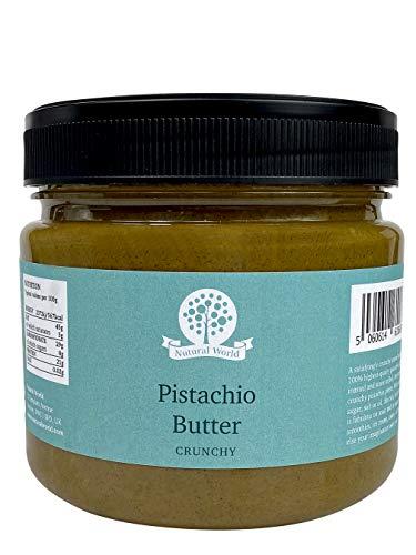Nutural World - Mantequilla Crujiente de Pistacho (1kg) Galardonado al Mejor Sabor
