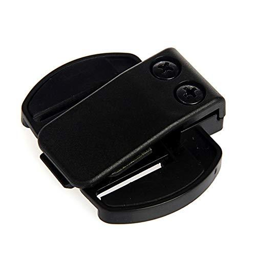 Casinlog Casco de motocicleta soporte intercomunicador clip V4 V6 Accesorios moto casco auricular reemplazo