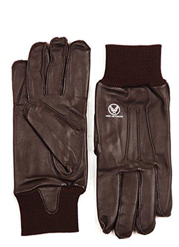 Ferromil A-10 / A10 Leder Handschuhe/Fliegerhandschuhe/Piloten Handschuhe Flight Gloves USAAF Airforce (L)