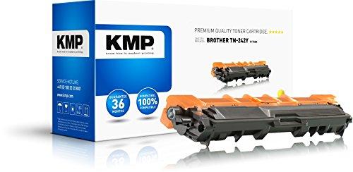 KMP Toner für TN-242Y Gelb - Kompatibel - für Tonerkartusche Brother DCP-9022CDW/HL-3142CW - Office Druckerzubehör