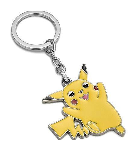 Pokemon-Pikachu TrendyMaker Schlüsselanhänger mit Figur, Spielfigur aus Metall