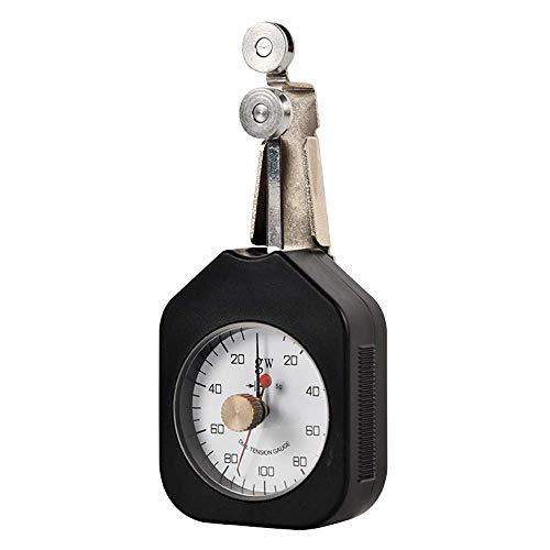 WYZXR Medidor de tensión Textil Tensiómetro Textil Tensiómetro de presión de dial analógico de Aguja Doble Herramientas de medición de Fuerza mecánica Rango 150-10-150
