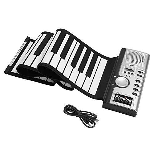 .b 61 teclas de mano enrollable piano portátil plegable instrumentos electrónicos órganos