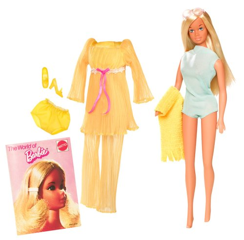 Barbie Mattel N4977-0 My Favorite Doll Malibu 1971, una muñeca