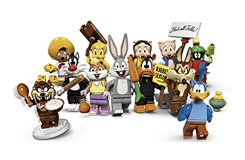 Lego Looney Tunes Collectible Minifigures - Complete Set of 12 (71030)