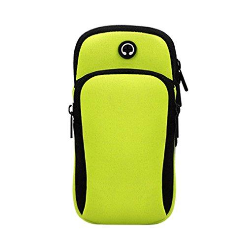 TYCXYD Arm Arm Bag Mobile Phone Bag Outdoor Running Mobile Phone Bag Men And Women Arm With Mobile Arm Sleeve Handbag Waterproof Breathable Belt Luminous Arm Band Ultra-lightweight waterproof travel b