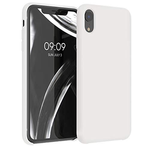 kwmobile Hülle kompatibel mit Apple iPhone XR - Hülle Handyhülle gummiert - Handy Hülle in Creme