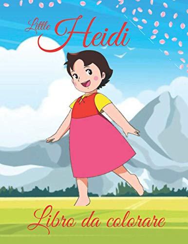 little Heidi libro da colorare: se amate i libri da colorare piccoli e carini allora quello di Heidi è per voi!