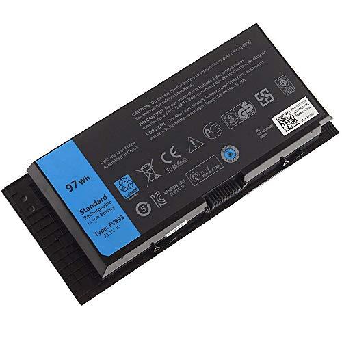 XITAIAN 11.1V 97Wh 9-Zelle FV993 R7PND X57F1 Ersatz Laptop Akku für Dell Precision M4600 M4700 M4800 M6600 M6700 M6800 FJJ4W